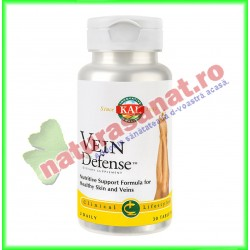 Vein Defense 30 tablete - KAL Solaray - Secom - www.naturasanat.ro