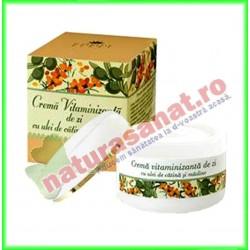 Crema Vitaminizanta de Zi cu Ulei de Catina si Masline 50 ml - Cosmetic Plant