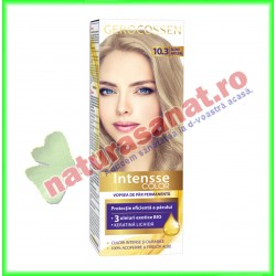 Intensse Color 10.3 Blond Natural Vopsea de Par Permanenta 50 ml - Gerocossen - www.naturasanat.ro