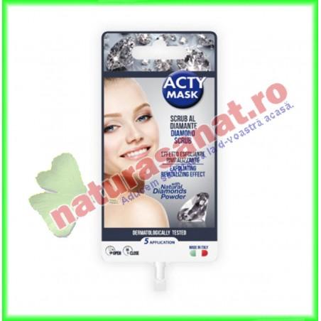 Scrub Fata cu Praf de Diamante Naturale 15 ml - Eurosirel - www.naturasanat.ro