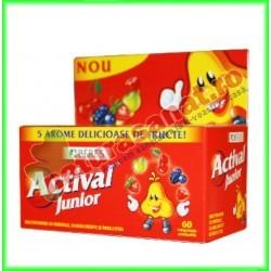 Actival Junior 60 comprimate masticabile - Beres - www.naturasanat.ro