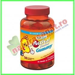Actival Junior Gummy 50 comprimate gumate - Beres - www.naturasanat.ro