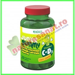 Actival Junior Gummy 20 comprimate gumate - Beres - www.naturasanat.ro