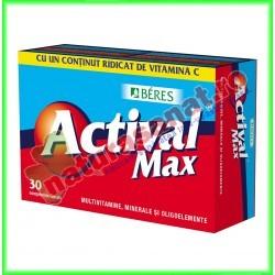 Actival Max 30 comprimate - Beres - www.naturasanat.ro