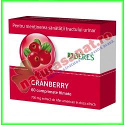 Beres Cranberry 30 comprimate filmate - Beres - www.naturasanat.ro