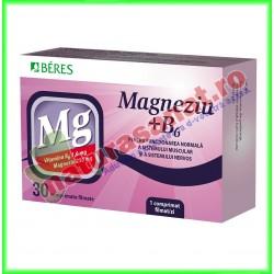 Magneziu + B6 30 comprimate - Beres - www.naturasanat.ro