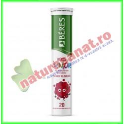 Multivitamine cu Calciu Junior 20 comprimate efervescente - Beres - www.naturasanat.ro
