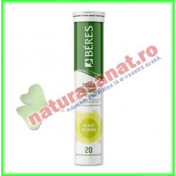 Vitamina C 20 comprimate efervescente fara zahar - Beres - www.naturasanat.ro