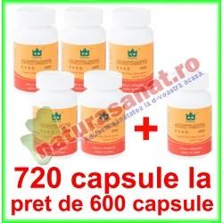 Ganoderma Lucidum Extract 425 mg PROMOTIE 720 capsule la pret de 600 capsule - Yong Kang - Co&Co Consumer - www.naturasanat.ro