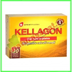 Kellagon 30 capsule - Sprint Pharma - www.naturasanat.ro