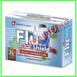 Flu Shield 30 capsule - Sprint Pharma - www.naturasanat.ro