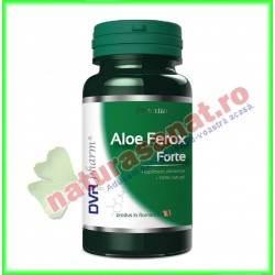 Aloe Ferox Forte 30 capsule - DVR Pharm - www.naturasanat.ro