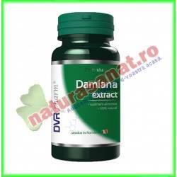 Damiana Extract 30 capsule - DVR Pharm - www.naturasanat.ro
