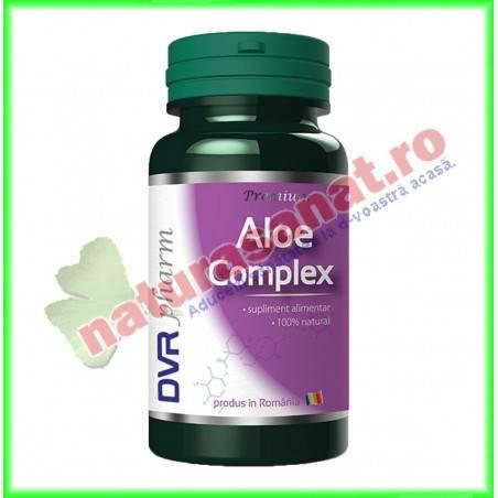 Aloe Complex 30 capsule - DVR Pharm - www.naturasanat.ro