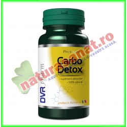 Carbo Detox 60 capsule - DVR Pharm - www.naturasanat.ro