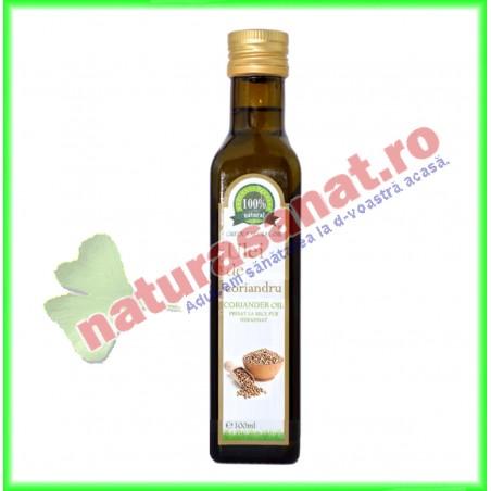 Ulei din Seminte de Coriandru 100 ml - Carmita - www.naturasanat.ro