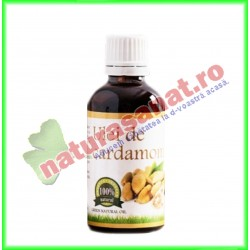 Ulei de Cardamon 50 ml - Carmita - www.naturasanat.ro