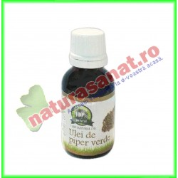 Ulei de Piper Verde 25 ml - Carmita - www.naturasanat.ro