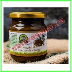 Unt Vegetal din Seminte de Canepa 200 g - Carmita - www.naturasanat.ro