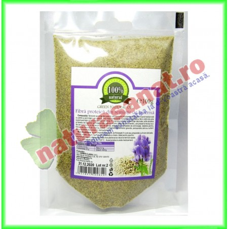 Fibra Proteica Seminte Lucerna 100 g - Carmita - www.naturasanat.ro