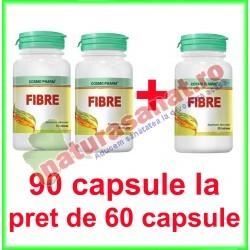 Fibre PROMOTIE 90 tablete la pret de 60 tablete - Cosmo Pharm - www.naturasanat.ro