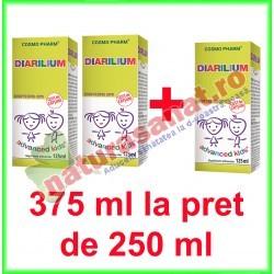 Diarilium Sirop PROMOTIE 375 ml la pret de 250 ml - Cosmo Pharm - www.naturasanat.ro