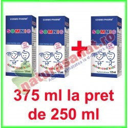 Somnic Sirop PROMOTIE 375 ml la pret de 250 ml - Cosmo Pharm