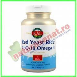 Red Yeast Rice (Drojdie din Orez...
