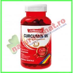 Curcumin 95 30 capsule - Ad Natura / Ad Serv - www.naturasanat.ro