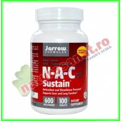 N-A-C Sustain 600mg 100...