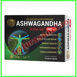 Ashwagandha KSM-66 30 capsule vegetale - Cosmo Pharm