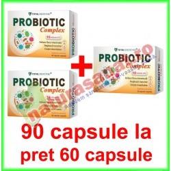 Probiotic Complex PROMOTIE 90 capsule la pret de 60 capsule - Cosmo Pharm - www.naturasanat.ro