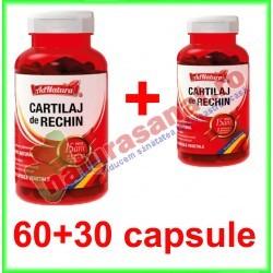 Cartilaj de Rechin 60+30 capsule - Ad Natura / Ad Serv - www.naturasanat.ro