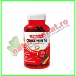 Curcumin 95 60 capsule - Ad Natura / Ad Serv - www.naturasanat.ro