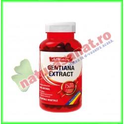 Gentiana Extract 30 capsule - Ad Natura / Ad Serv - www.naturasanat.ro