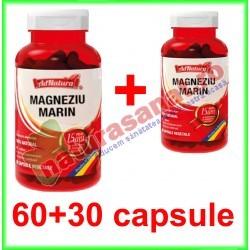 Magneziu Marin PROMOTIE 60+30 capsule - Ad Natura / Ad Serv - www.naturasanat.ro