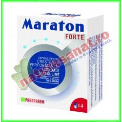 Maraton Forte 4 capsule - Parapharm - www.naturasanat.ro