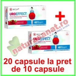 UroEffect PROMOTIE 20 capsule la pret de 10 capsule - Good Days Therapy - www.naturasanat.ro