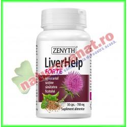 LiverHelp Forte 30 capsule - Zenyth - www.naturasanat.ro