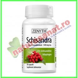 Schisandra 30 capsule - Zenyth - www.naturasanat.ro