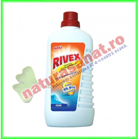 Detergent Universal Antibacterian Ocean 1 l - Rivex - www.naturasanat.ro