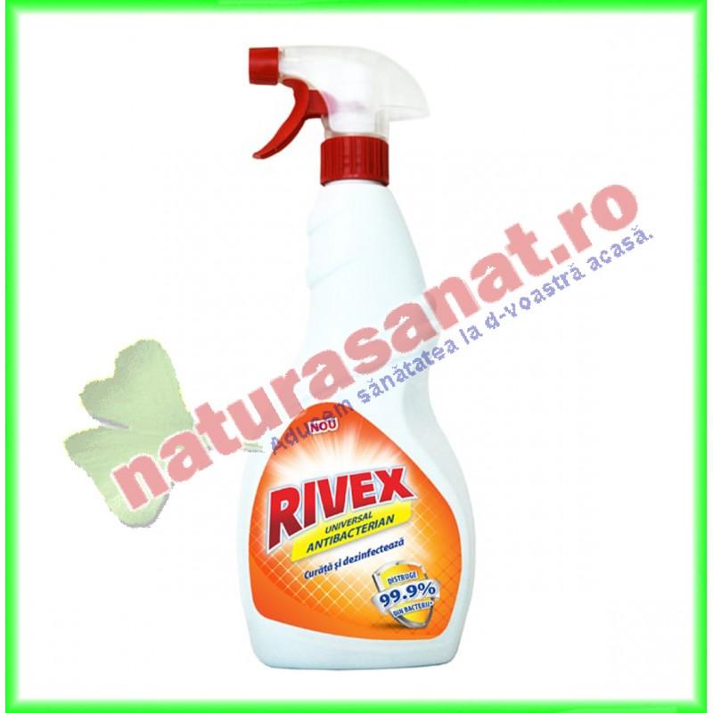 Spray Dezinfectant Universal Antibacterian 750 ml - Rivex - www.naturasanat.ro