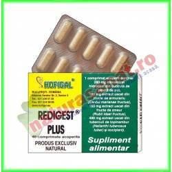 Redigest Plus 40 comprimate -...