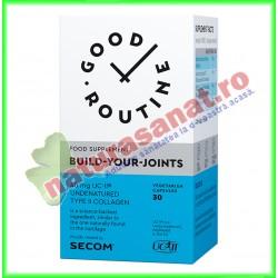 Build-Your-Joints 30 capsule vegetale - Good Routine - Secom - www.naturasanat.ro