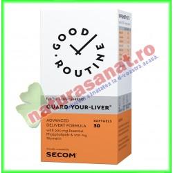 Guard-Your-Liver 30 capsule vegetale  - Good Routine - Secom - www.naturasanat.ro