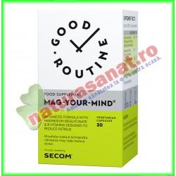 Mag-Your-Mind 30 capsule vegetale  - Good Routine - Secom - www.naturasanat.ro