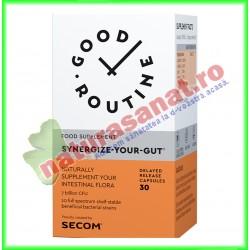Synergize-Your-Gut 30 capsule vegetale  - Good Routine - Secom - www.naturasanat.ro