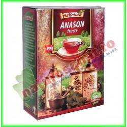 Ceai Anason Fructe 50 g - Ad...