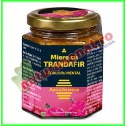 Miere cu Trandafir 200 ml ( 215 g ) - Apicolscience - www.naturasanat.ro