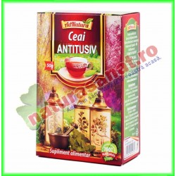 Ceai Antitusiv 50 g - Ad Natura - Adserv - www.naturasanat.ro